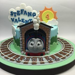 Thomas train cake - Cake by Annunziata Cipullo