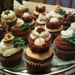 Mocha Gourmet Cupcakes - Cake by Tammy
