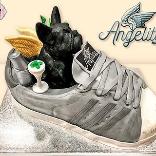 Sports shoe cake - Cake by Auxai Tartas