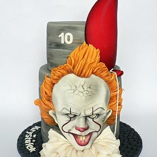 Pennywise bithday cake