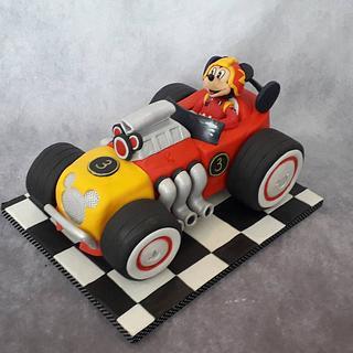 Racer Mickey