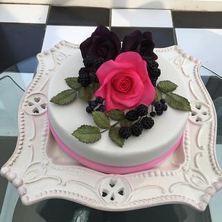 Therese's birthday cake