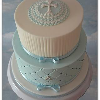 Christening cake  - Cake by Any Excuse for Cake