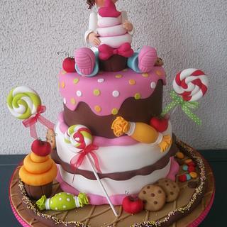 Sugar Party Cakes - Cake by Alexsandra Caldeira