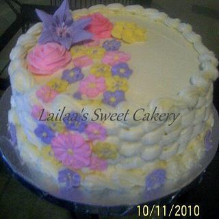 Basketweeve Cake