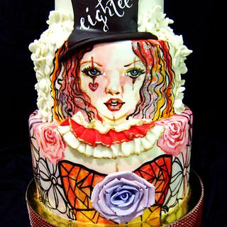 Vintage Circus Themed Cakes for Kisses
