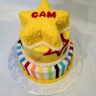 Star 1st Birthday - Cake by Dawn Henderson