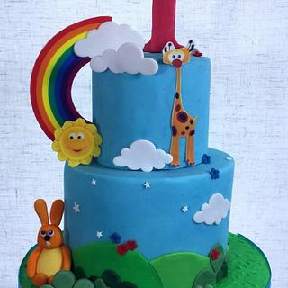 Baby cake  - Cake by Dawn Wells