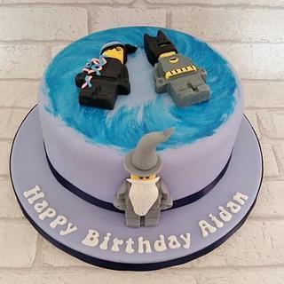 Lego Dimensions cake