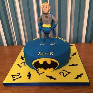 Batman Fan Cake