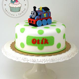 Thomas the Engine Cake