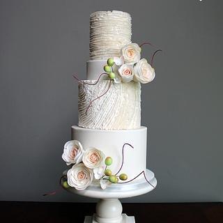Enchanted Woodland Buttercream Cake