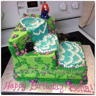 Isabella's Brave Birthday Cake