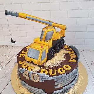 Crane cake - Cake by Jelena Markus