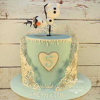 Amelia's Frozen Cake