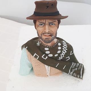 Clint Eastwood figure