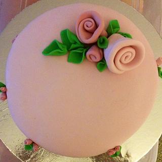 Christening cake - Cake by sugarybakers