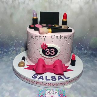 Make_up cake by Arty cakes