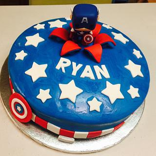 Captain America Funko Pop Cake