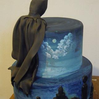 Gotham cake - Cake by Caterina Fabrizi