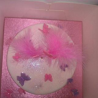 Just a pretty cake.