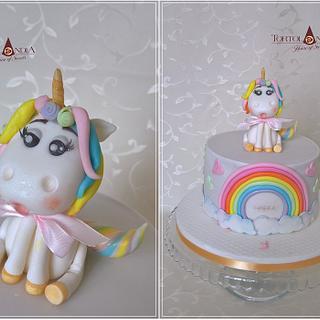 Unicorn for Lucka  - Cake by Tortolandia
