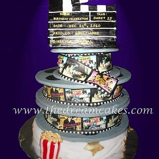 Bollywood Movie cake