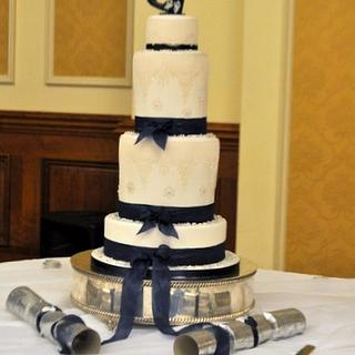 Laced Wedding Cake.