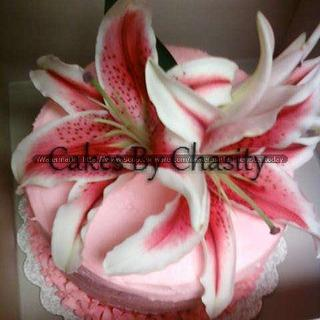 star gazer - Cake by chasity hurley