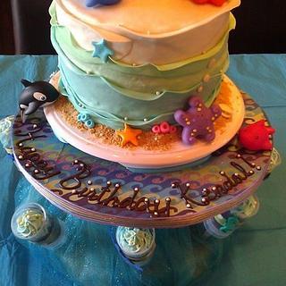 8th birthday cake - Cake by angela