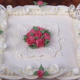 Victorian Wedding Cake