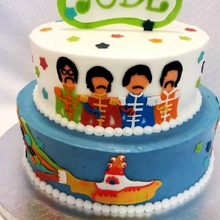 Jude's Sgt Pepper Cake - Cake by RuthieAnn