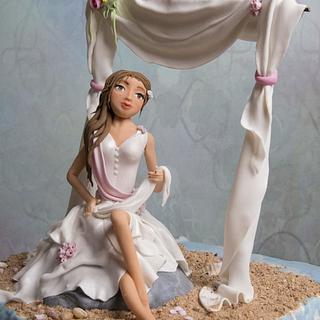 Sweet Summer collaboration- my beach wedding bride