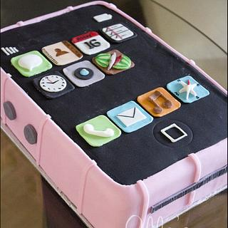 iPhone Cake - Cake by LadyTangerine