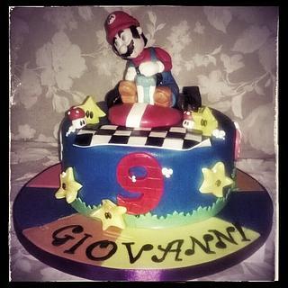superMario kart racing.... - Cake by Cristiana Ginanni