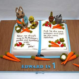 Beatrix Potter Book Cake!