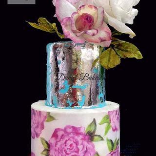 Shabby Chic  - Cake by Daniel Guiriba