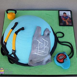 TRX cake - Cake by M&G Cakes