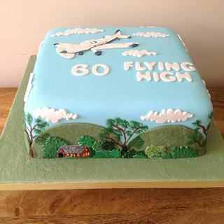 Flying High cake