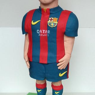 Cake Sculpture Leo Messi