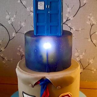 Dr who scout - Cake by Daisychain's Cakes