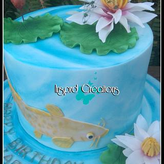 Water Lilly Cake