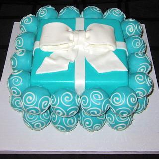 Tiffany Cake Ball Cake