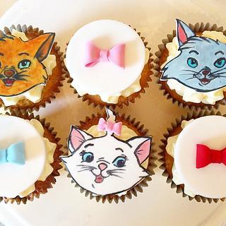 Aristocats cupcakes!