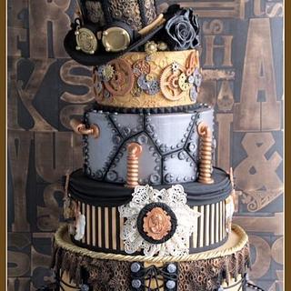 Steampunk Fantasy - Cake by Cake Garden