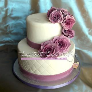 White & purple lilac