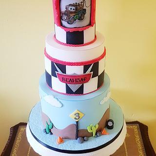 McQueen cake - Cake by DDelev