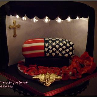 Memorial day collaboration. In Their honor - Cake by Janice Barnes - Jan's Sugarland of Cakes