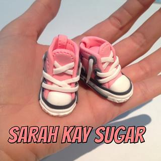 My first baby Converse for a doll^^