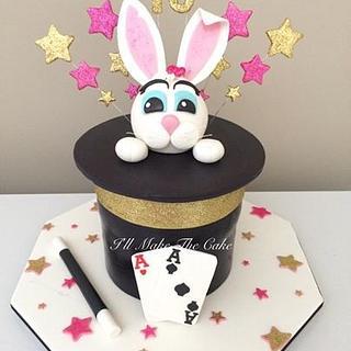 Magic hat birthday cake.  - Cake by IllMakeTheCake